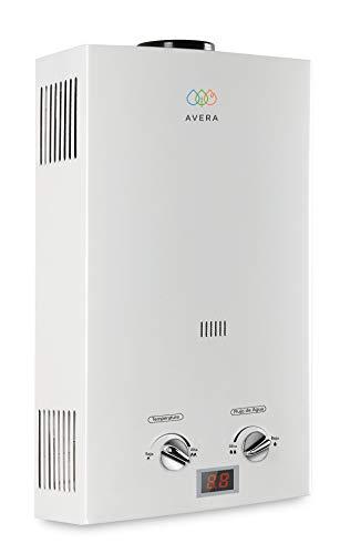 AVERA Calentador de agua instantáneo para 1 regadera. GAS NATURAL. C6LNAT....