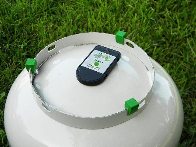 medidor de gas butano inalambrico