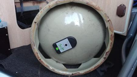 medidor inalambrico de gas propano