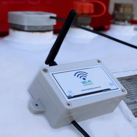Medidor de Gas WiFi 2.0 iSentinel